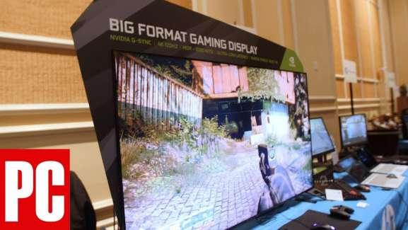A Check Back at CES 2018 NVIDIA's Big Format Gaming Display and OTS Partners