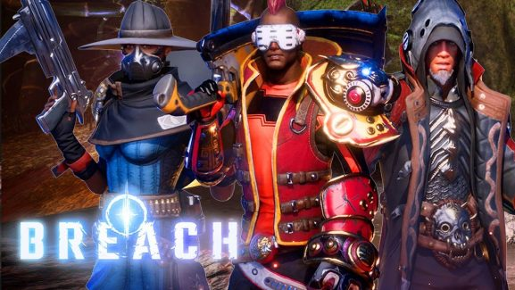 Early Access For A New Game By QC Games – Breach – Is Now Available On Steam; Sniper Class Introduced With The New Gameplay Trailer