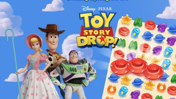Big Fish Games Partners With Disney Pixar To Create The Match-3 Puzzle Game Toy Story Drop!