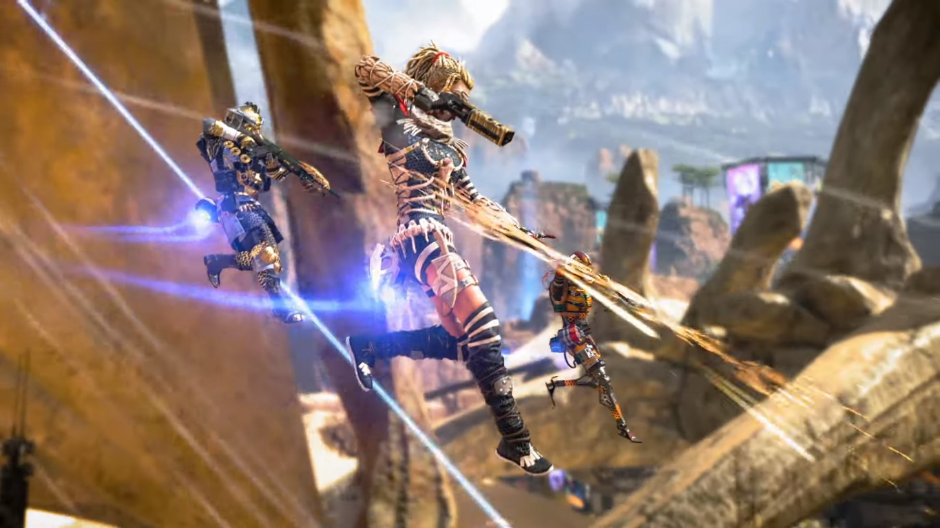A Match In Apex Legends Turns Into A Full-Blown Hilarious Fist Fight