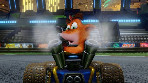 Crash Team Racing: Nitro-Fueled Revving Up To The Online Store Shelves As Scheduled
