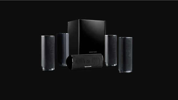 Refurbished Harman Kardon HKTS 16 5.1 Surround Sound Speaker Is For Sale For Only $140