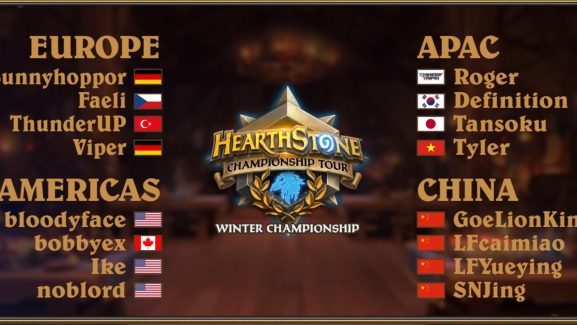 Hearthstone Card Packs Up For Grabs In The HCT Winter Championship
