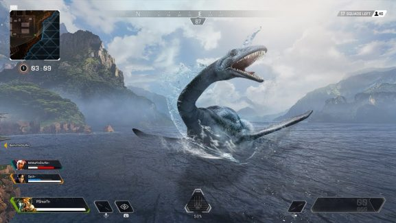 Loch Ness Monster Shows Up In Apex Legends After Players Shoots Mystery Easter Egg Dolls