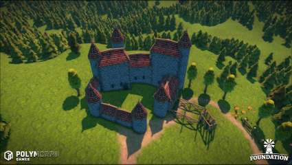 Early Access To The Medieval City-Building Simulation Game, Foundation, Is Now Available