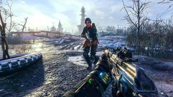 Expect Ultra Ray Tracing And DLSS To Show Up At Metro Exodus's Day One Edition