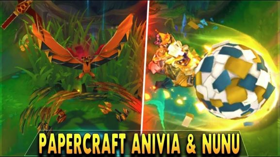 Two Recent Papercraft Skins Will Be Out For League Of Legends And They're Long Time Coming