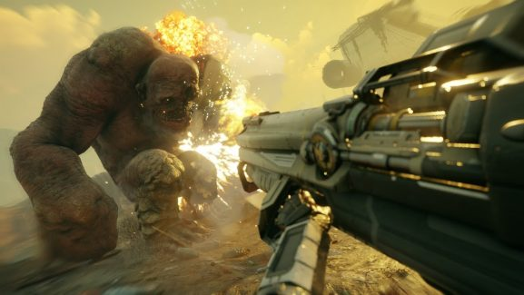 Pre-Beta Shots Of Rage 2 Shows Almost 9 Minutes Of Brutal Mayhem