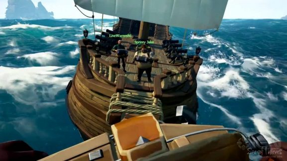 Sea Of Thieves Will Be Making Cross-Play An Option For Xbox One Controller Users