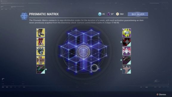 Destiny 2 Fans Need To Say Goodbye To The Prismatic Matrix But Bungie Has Offered A Replacement