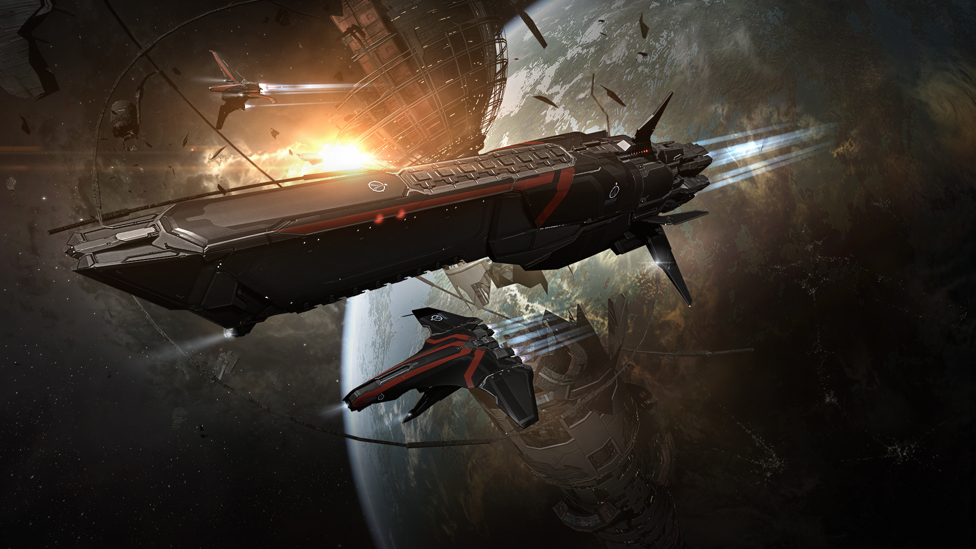 10,000 Ships Battled During Eve Online's Tech Demo At GDC And Almost 4000 Players Have Played