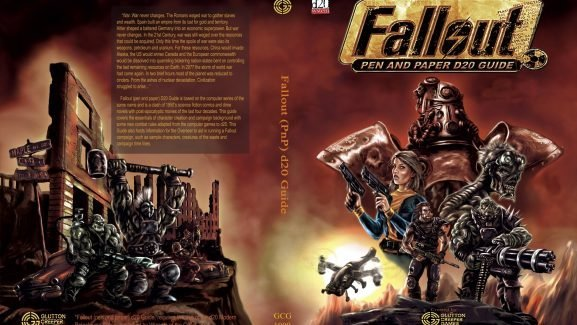 Modiphius Entertainment Announces Fallout's Upcoming Pen And Paper And More Updates On Tabletop Miniature Game