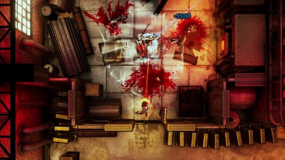 Top-Down Shooter Game Similar To Hotline Miami – God's Trigger – Will Be Released On April 18