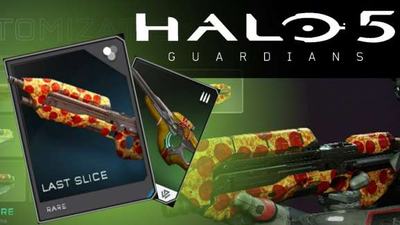 There's A Pizza Skin In Halo 5 And It's A Complimentary From 343 Industries