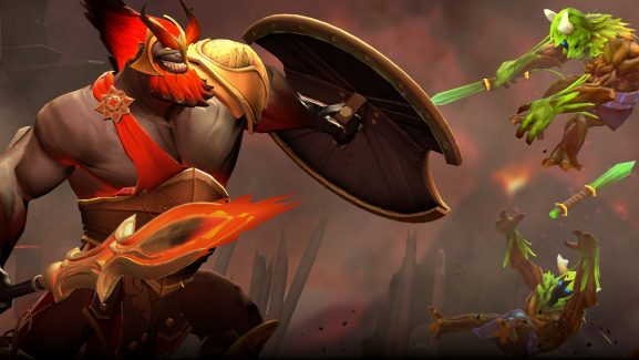 Mars, The Big Red, And His Undead Army Has Finally Arrived In Dota 2 - They'll Be Legendary