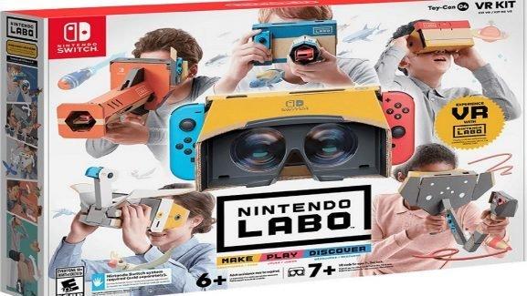 Nintendo Is Getting Into Virtual Reality With Cardboard DIY Kits