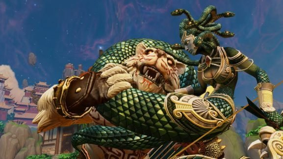 Smite Launched A Godly New Character, And He's A Huge Venomous Serpent!