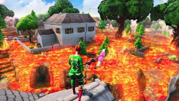 Epic Games' Next Limited Time Mode – The Floor Is Lava – For Fortnite Is Coming Soon