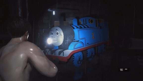 Mods Inserts Kids Animation Character Thomas The Tank Engine In Resident Evil 2