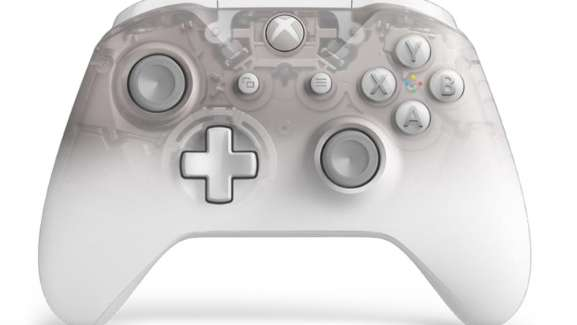 Microsoft's Phantom White Controller For Xbox Is Snazzy And It's Available For Preorder