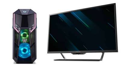Acer's Predator Is Huge And Bright - It's A 43-Inch 4K Display And Has Generous Port Selection