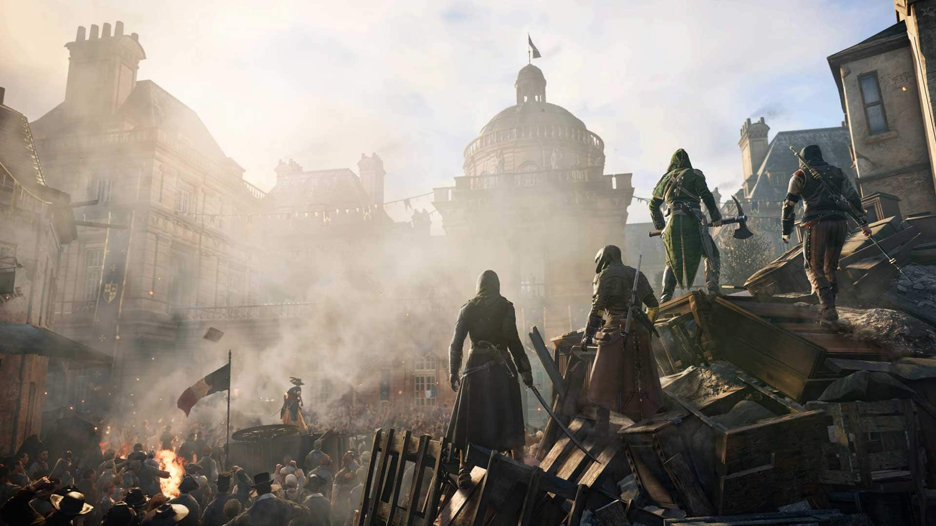 Ubisoft Had To Increase Their Server Capacity For Assassin's Creed Unity After Players Poured In Following The Giveaway