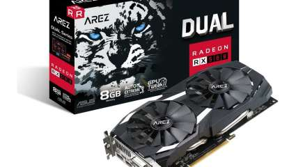 The Overclocked Asus Arez Dual Series Radeon RX 580 8 GB Delivers An Excellent Performance For A Cheap Price