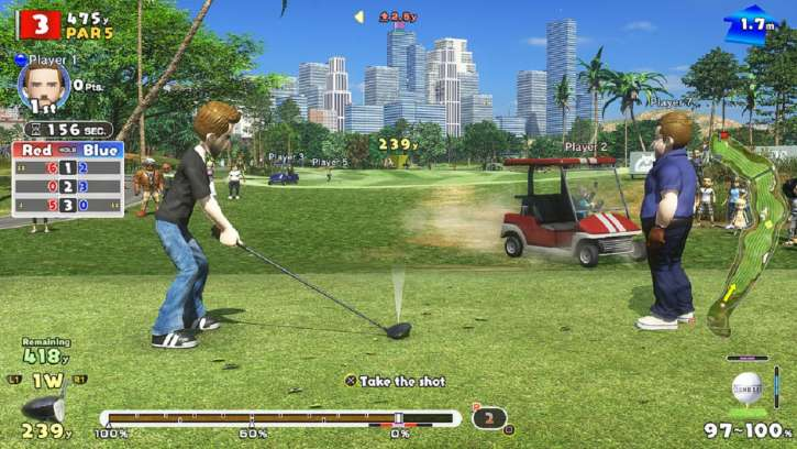 Everybody's Golf Will Be Available This Summer; Brings Golfing Fun To The Sony PSVR