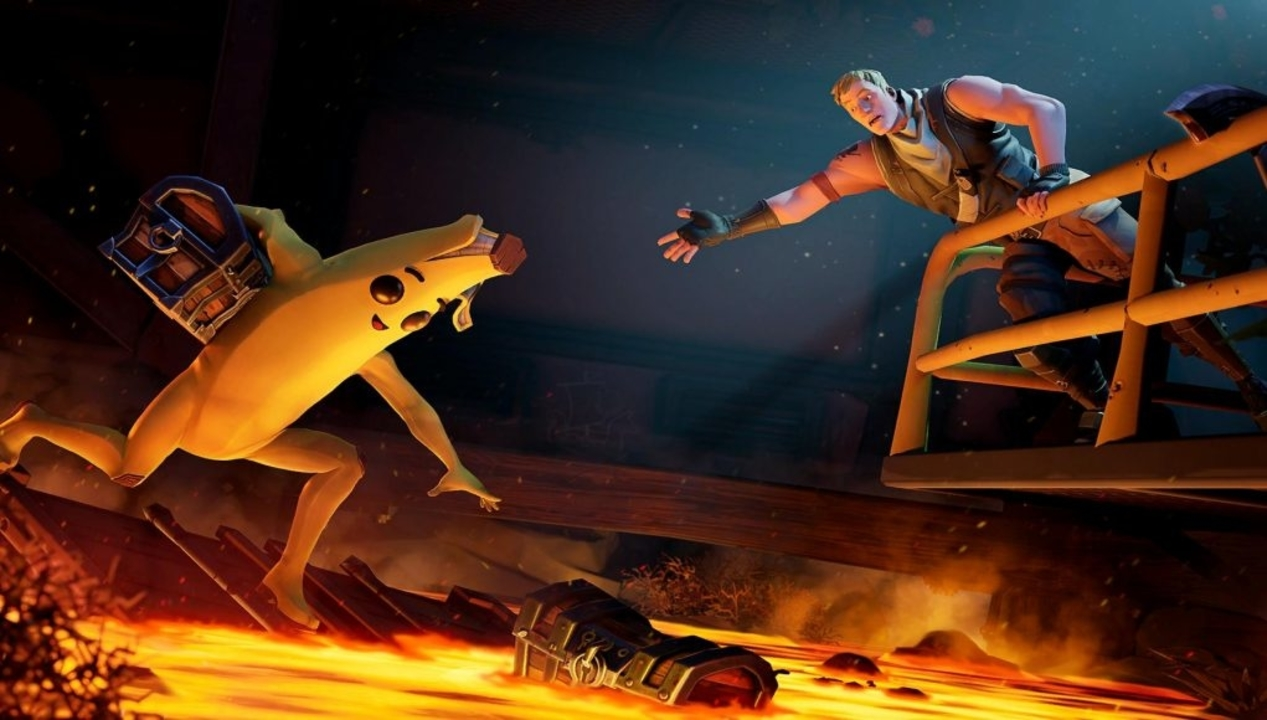 Fortnite's Week 9 Of Season 8 Offers Battle Stars Only When Players Find Dinos, Hotsprings, And Sculptures