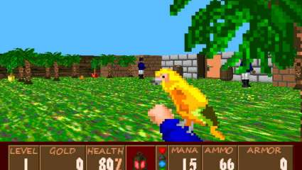 New Golden Parrot Mod Turns Nazis In Wolfenstein 3D Into Angry Pirates!