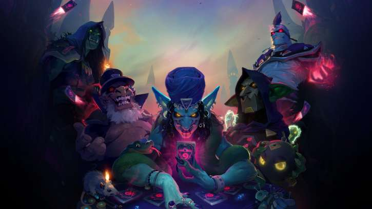 Hearthstone: Rise Of Shadows Goes Live With The League Of E.V.I.L. Returning