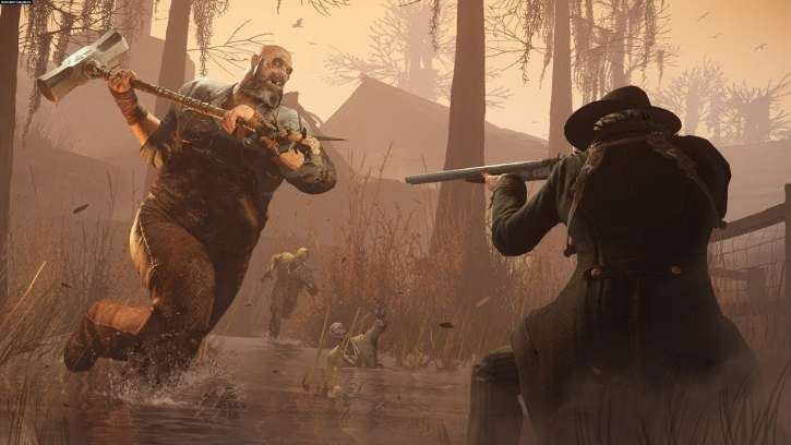 The New Boss In Hunt: Showdown Is Made From Rags And Insects And It's Nightmarish In Appearance