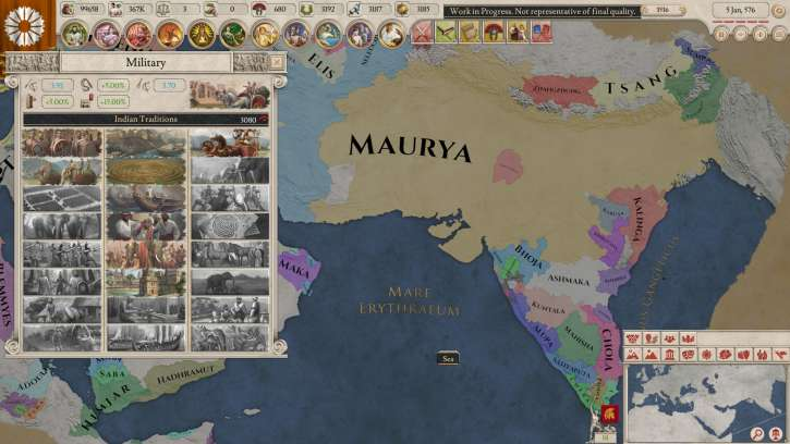 Mod Converts Imperator: Rome Map Into J.R.R. Tolkien's Middle Earth