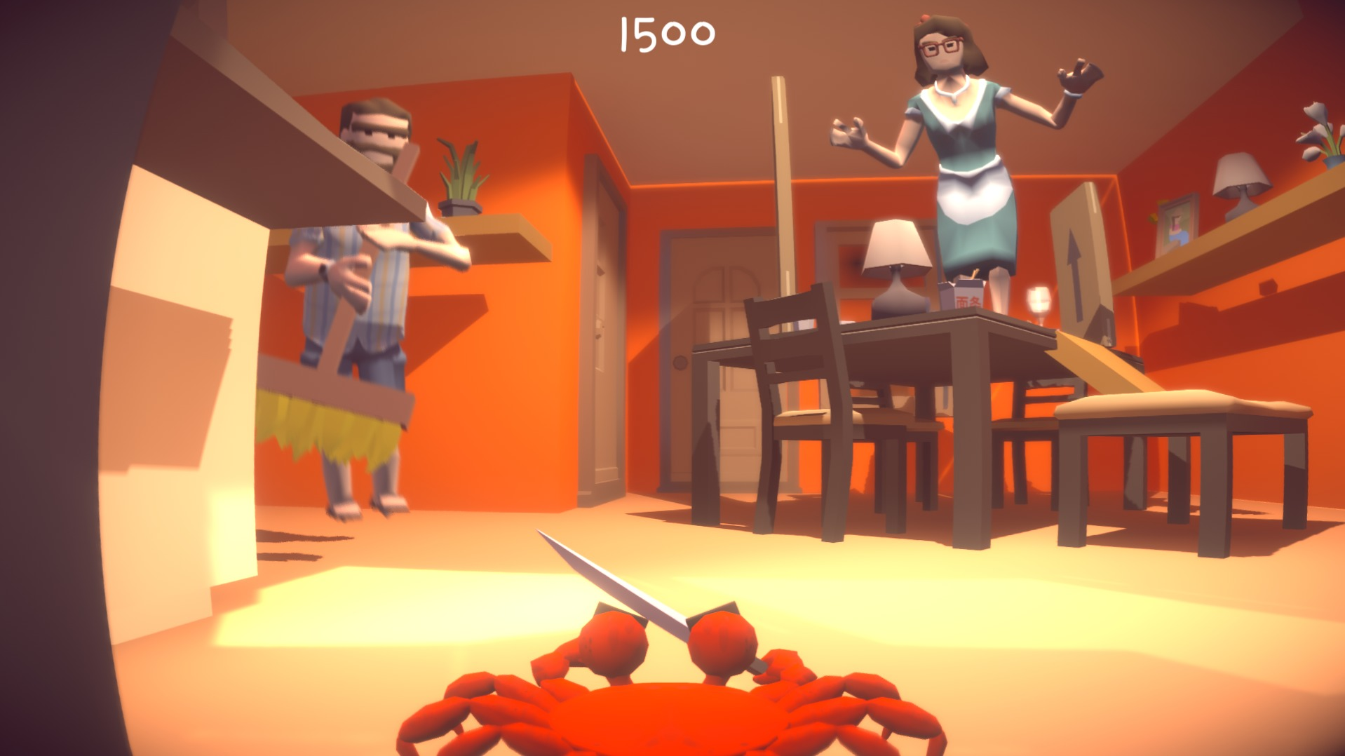 Knife 2 Meat U Is A Comedy Game For Those Who Want To Take A Break – It's Short, Funny, And It's Free!