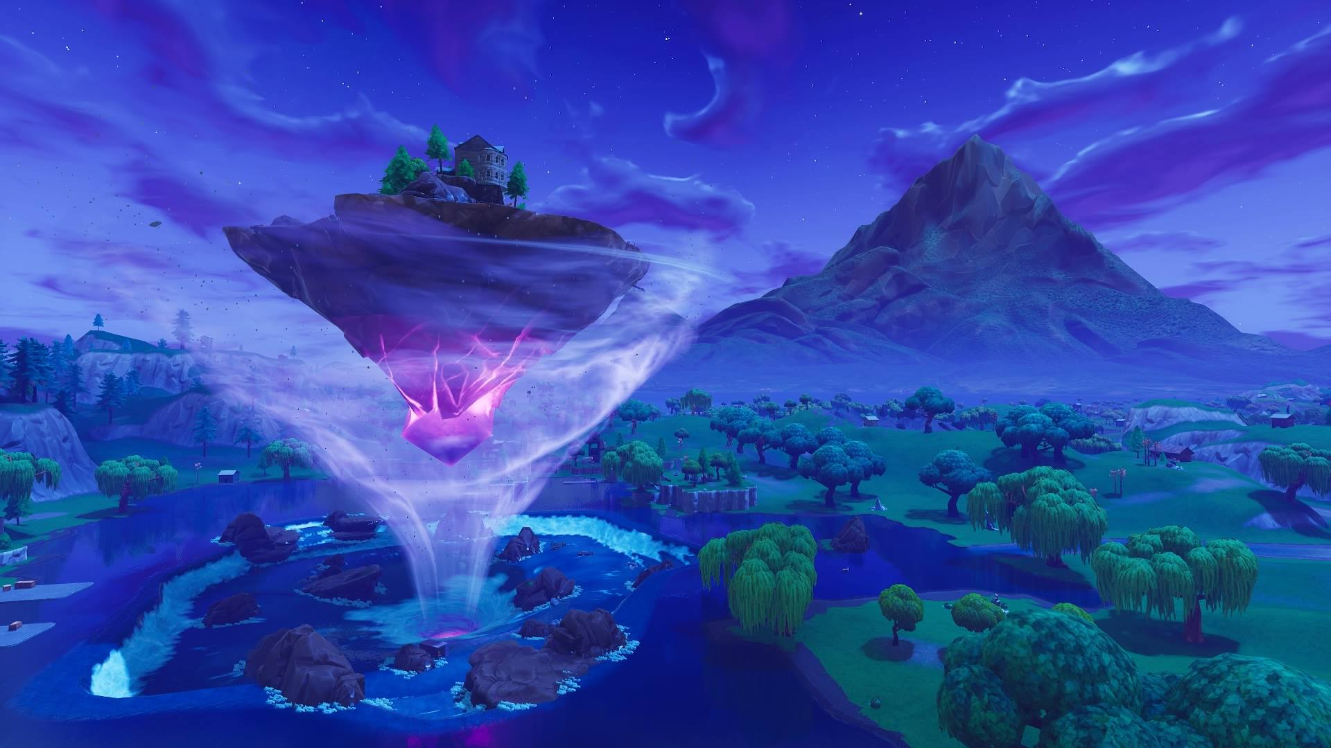 Weird Floating Runic Vessel Linked To Loot Lake Vault Of Fortnite Appears And Sails Towards Unknown Destination