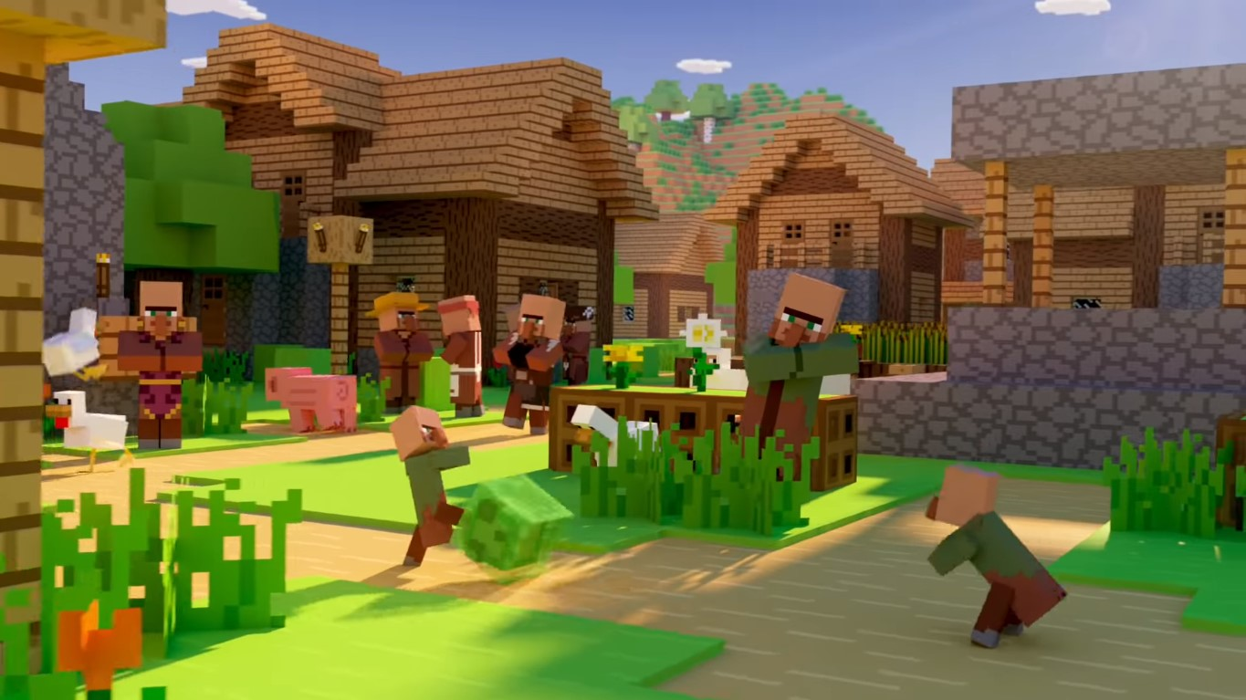 Minecraft Turns Into Minecraft 2.0 Look-Alike With Path Tracing Mode