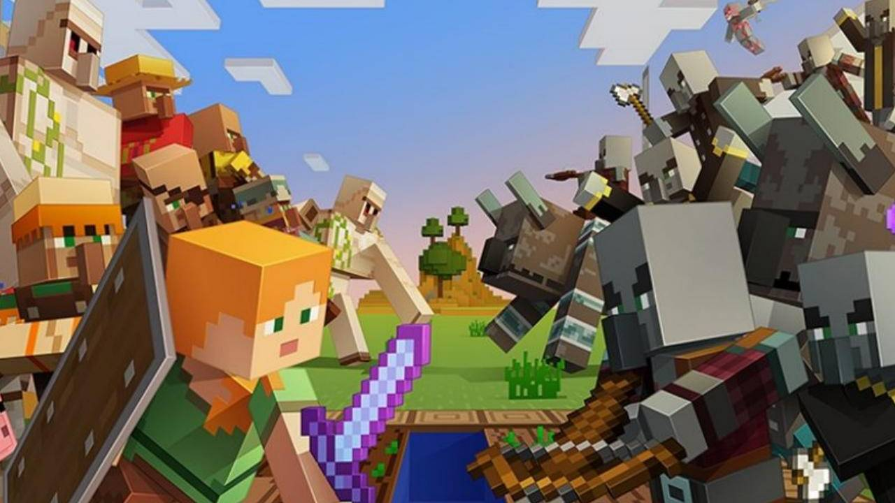 Biggest Minecraft Java Update Out Today; Village And Pillage To Include Bamboo Jungle And Bamboo Hills