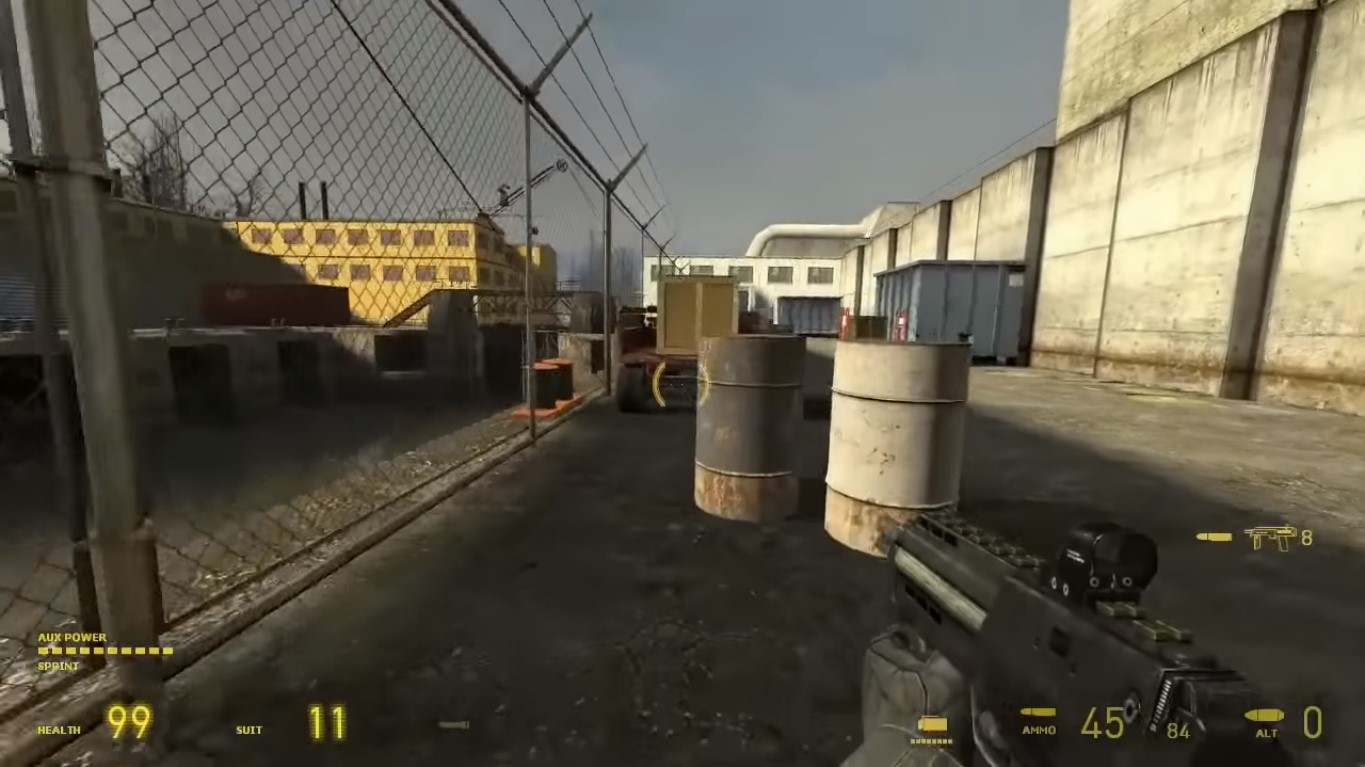 Mobility Mod Update Drops Titanfall-Inspired Wall Run Move On Half Life 2