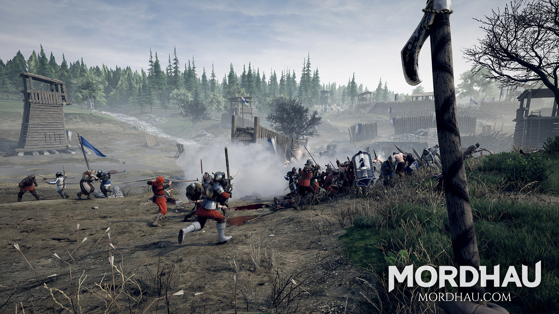 Triternion's Medieval Multiplayer Hack-And-Slasher Game, Mordhau, Is Arriving On PC On April 29
