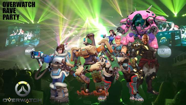 Rave Dance Party Takes Over In Overwatch Match; Havana Set To Host Next Archives Event
