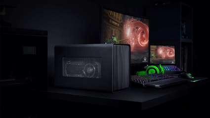 Razer Core X Chroma eGPU Enclosure Features Fancy RGB Lighting And Bigger PSU To Boost A Laptop's Gaming Aptitude