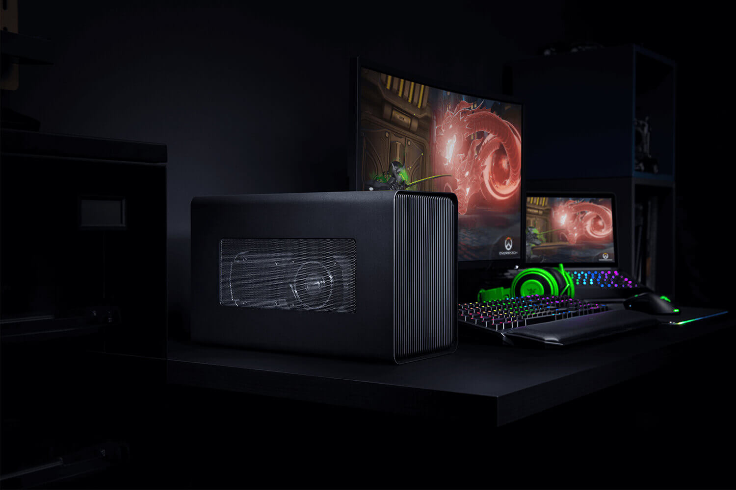 Razer Core X Chroma eGPU Enclosure Features Fancy RGB Lighting And Bigger PSU To Boost A Laptop's Gaming Aptitude