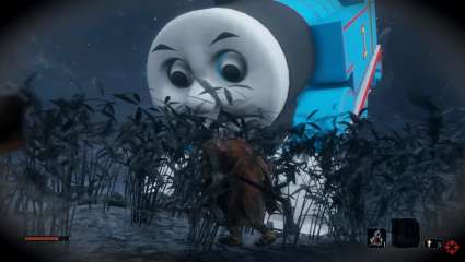 Thomas The Tank Engine Replaces The Great Serpent In Sekiro: Shadows Die Twice
