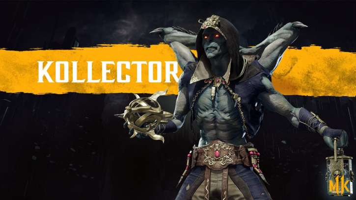 Mortal Kombat 11 New Character The Kollektor Dips Into His Bag of Tricks