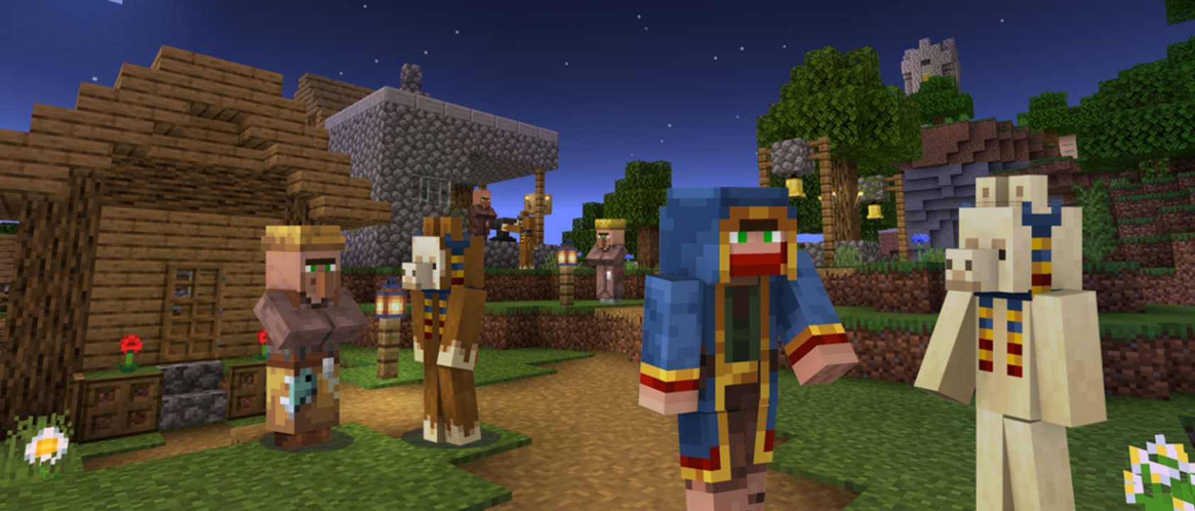 Minecraft 'The Travelling Trader' Gets Downloaded 100K Times In Less Than 24 Hours; Fans Get 2 Llama Skins