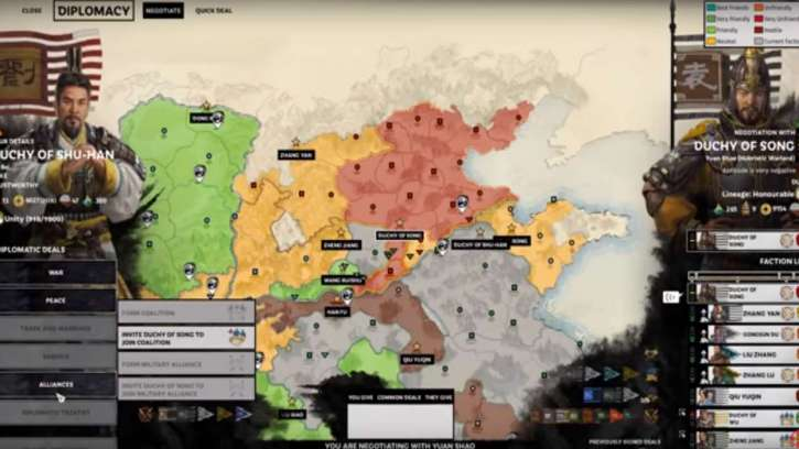 The Turn-Based Total War: Three Kingdoms Is Selling Exceptionally Well In China Right Now