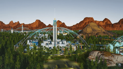 There's Terraforming At Last In The Green Planet, The Upcoming Expansion In Surviving Mars