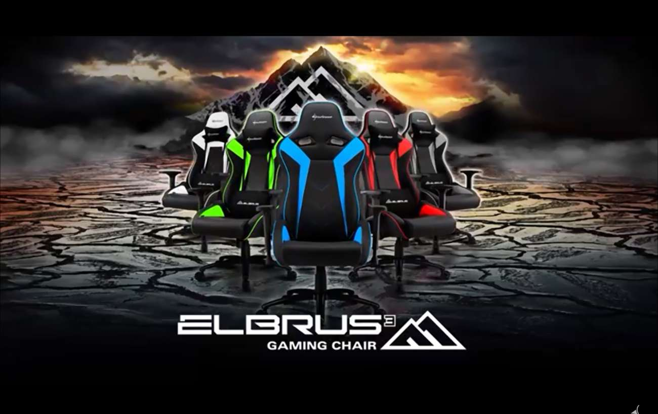 Sharkoon Has Designed Some Stylish And Comfortable Gaming Chairs Called Elbrus 3; Features A Durable Steel Frame