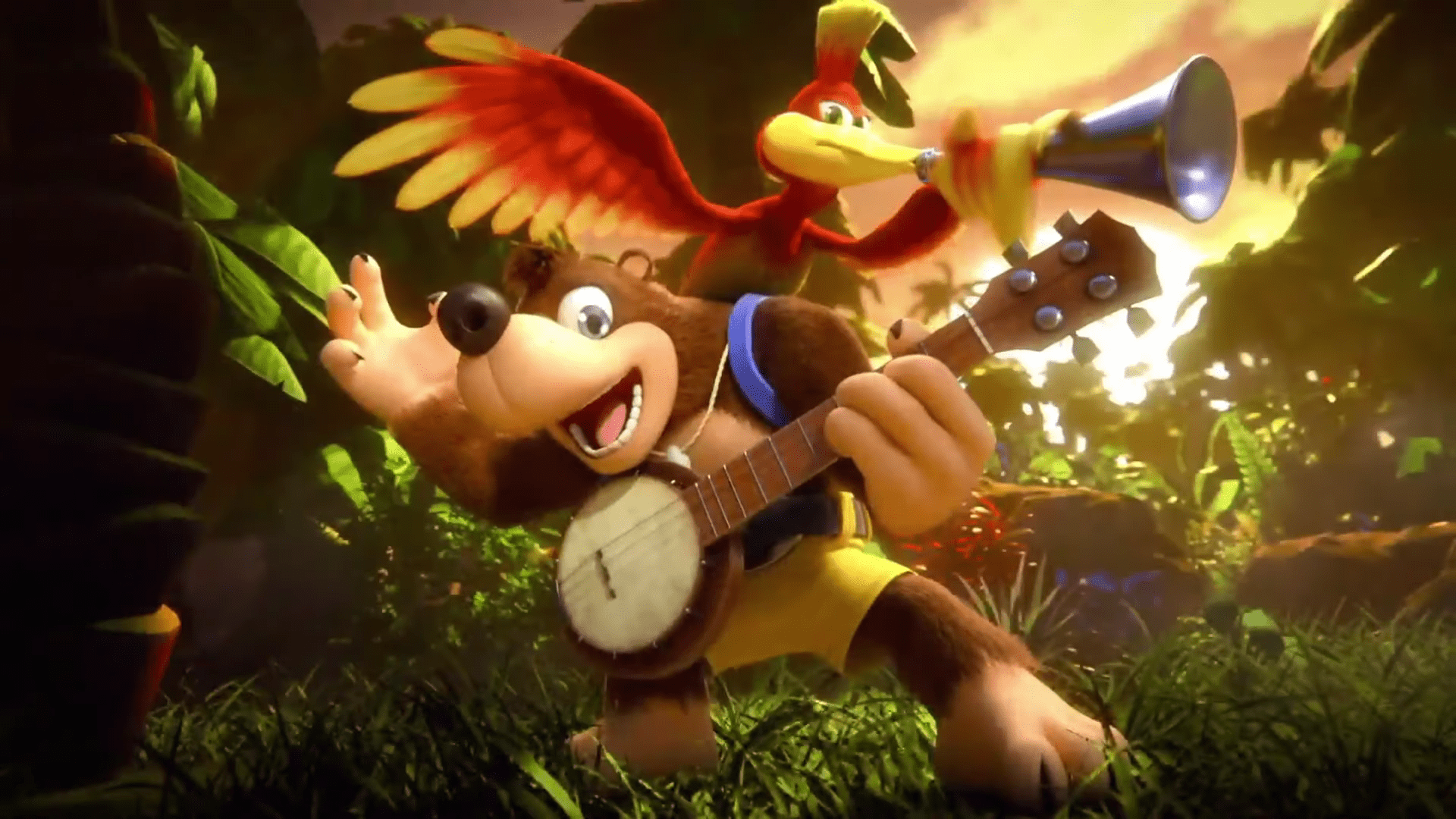 Old School Nintendo Characters Banjo and Kazooie Return To Switch For Super Smash Bros. Ultimate