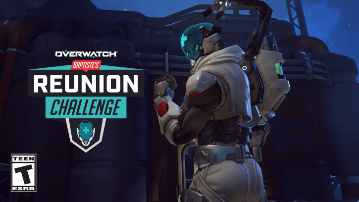 Overwatch Baptiste Reunion Challenge Only Has A Few Days Left